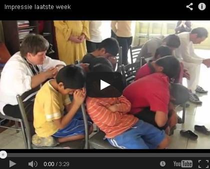 Filmpje Mission trip 2012 laatste week