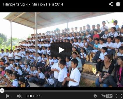 Filmpje Mission trip Peru 2014