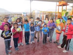 Donatie van christelijke boekjes